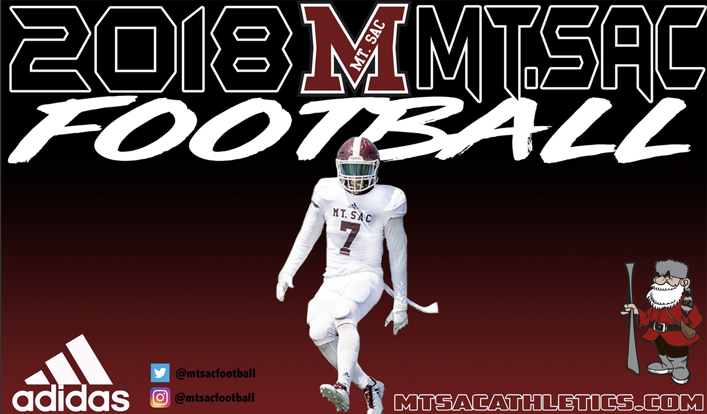2018 Mt. SAC Football Banner